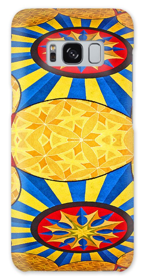 Digital Art Galaxy S8 Case featuring the photograph Magic Carpet by Marian Bell
