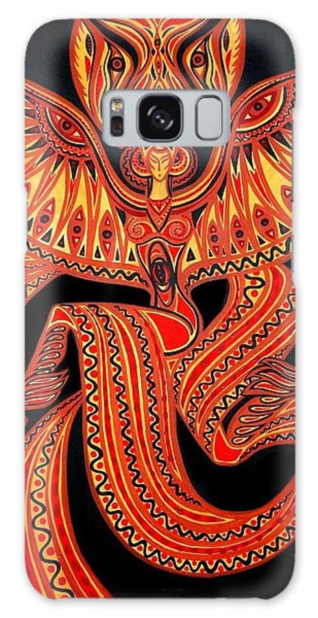 Inga Vereshchagina Galaxy S8 Case featuring the painting Magic Dance by Inga Vereshchagina