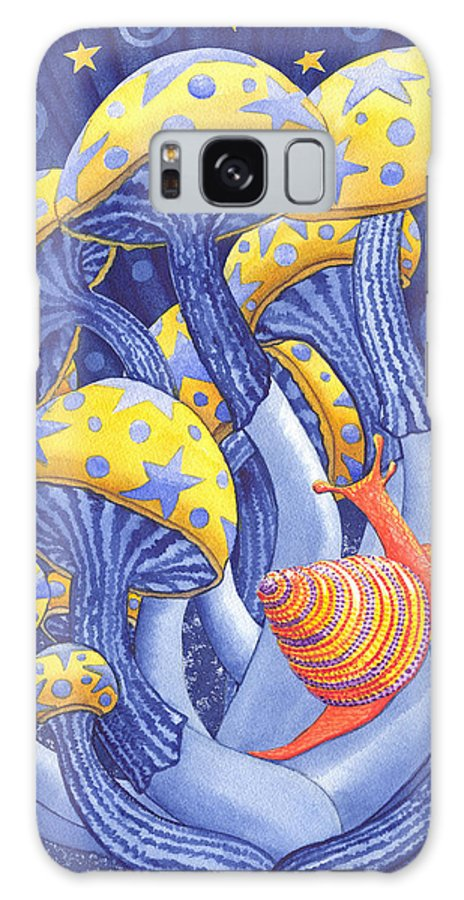 Mushroom Galaxy S8 Case featuring the painting Magic Mushrooms by Catherine G McElroy