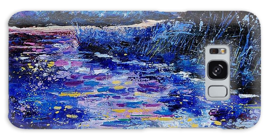 River Galaxy S8 Case featuring the painting Magic Pond by Pol Ledent