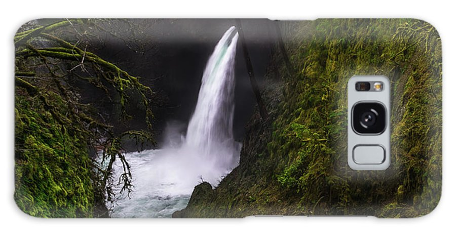 Forest Galaxy S8 Case featuring the photograph Magical Falls by Larry Marshall