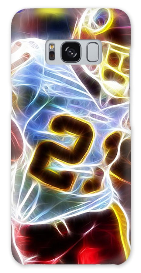 Sean Taylor Galaxy S8 Case featuring the painting Magical Sean Taylor by Paul Van Scott