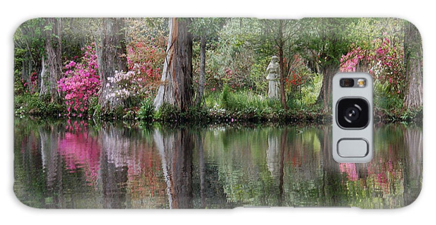 Magnolia Plantation Galaxy S8 Case featuring the photograph Magnolia Plantation Gardens Series Iv by Suzanne Gaff