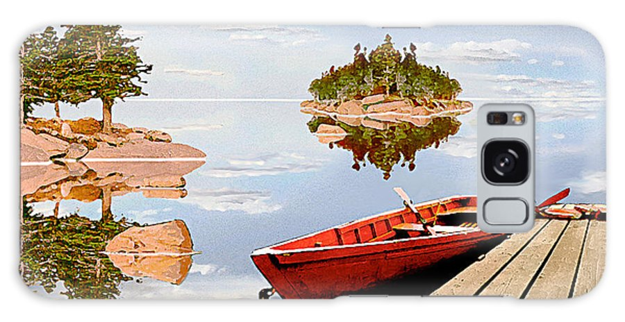 Maine Galaxy S8 Case featuring the photograph Maine-tage by Peter J Sucy