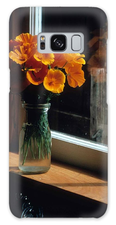 Maine Windowsill Galaxy S8 Case featuring the photograph Maine Windowsill by Laurie Paci