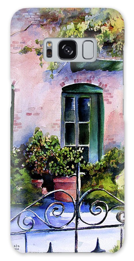 Napa Valley Galaxy S8 Case featuring the painting Maison Fleurie by Marti Green