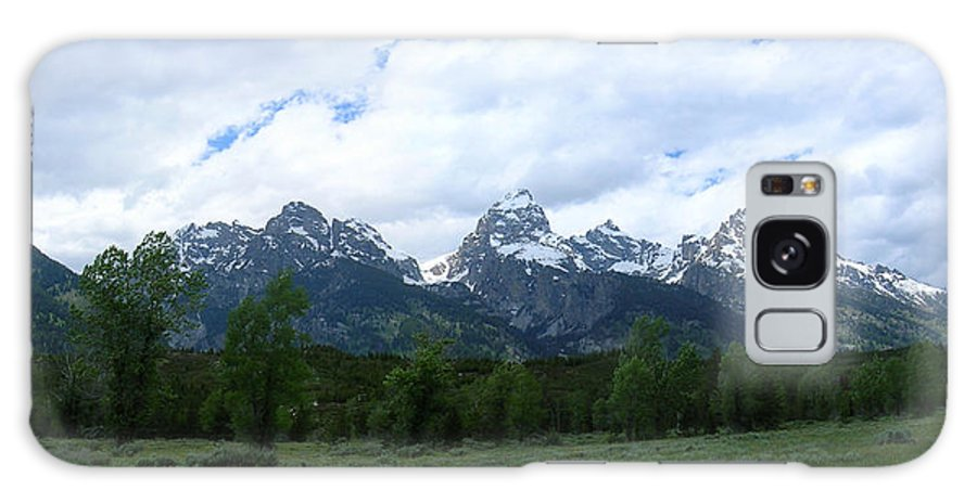 Grand Galaxy S8 Case featuring the photograph Majestic Grand Tetons by George Jones
