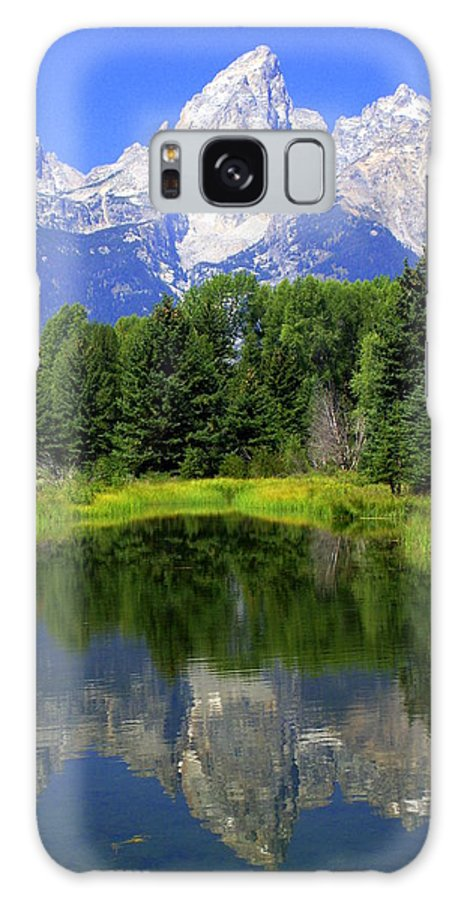 Grand Teton National Park Galaxy S8 Case featuring the photograph Majestic Tetons by Marty Koch