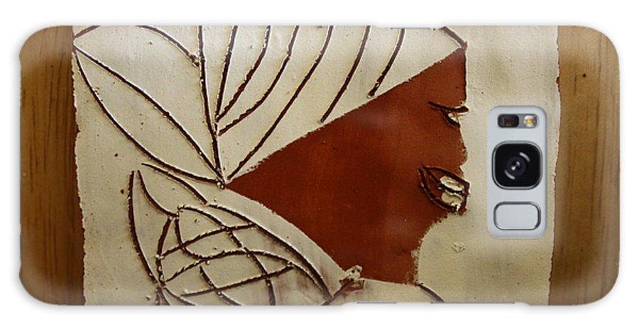 Jesus Galaxy S8 Case featuring the ceramic art Mama 3 - Tile by Gloria Ssali