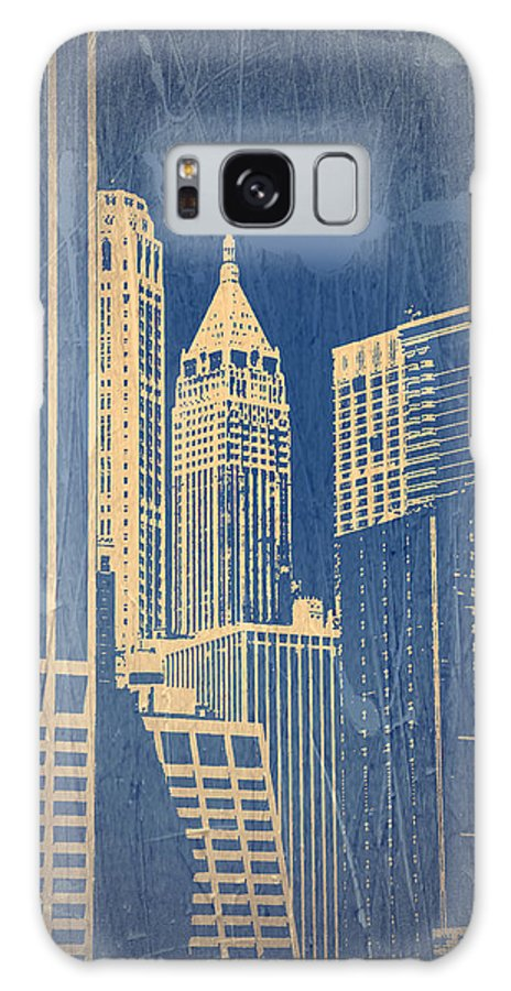 Chrysler Building Galaxy S8 Case featuring the photograph Manhattan 1 by Naxart Studio