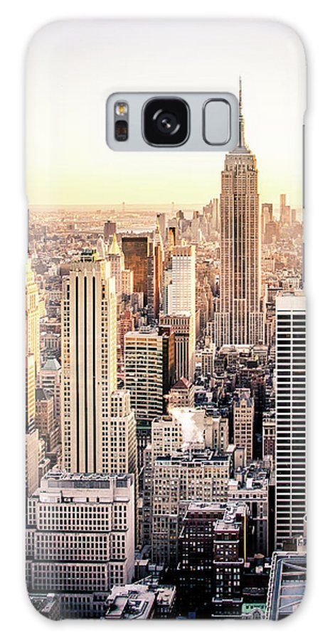 Nyc Galaxy S8 Case featuring the photograph Manhattan by Michael Weber
