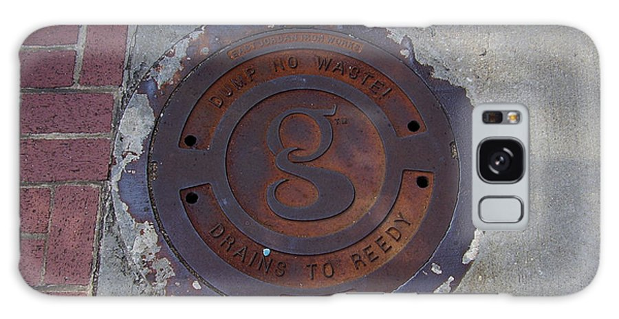 Manhole Galaxy S8 Case featuring the photograph Manhole II by Flavia Westerwelle