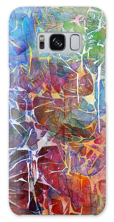 Abstract Galaxy S8 Case featuring the painting Manna by Arlissa Vaughn