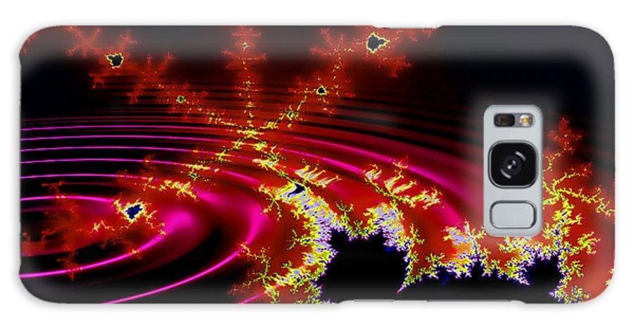 Fractal Galaxy S8 Case featuring the digital art Mantis by Robert Orinski