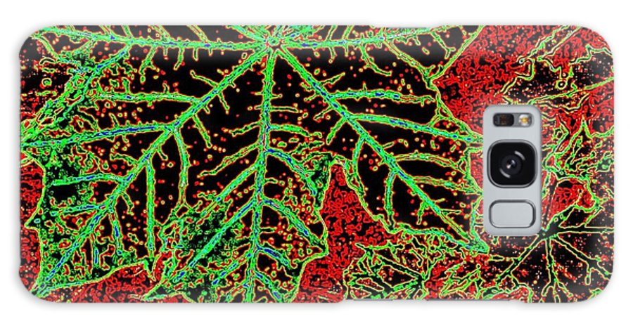 Cheerful Galaxy S8 Case featuring the digital art Maple Mania 7 by Will Borden