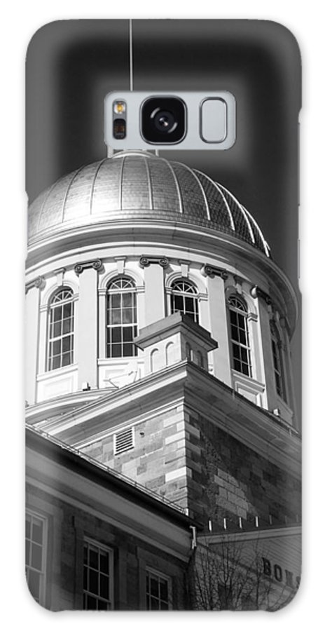 North America Galaxy S8 Case featuring the photograph Marche Bonsecours by Juergen Weiss