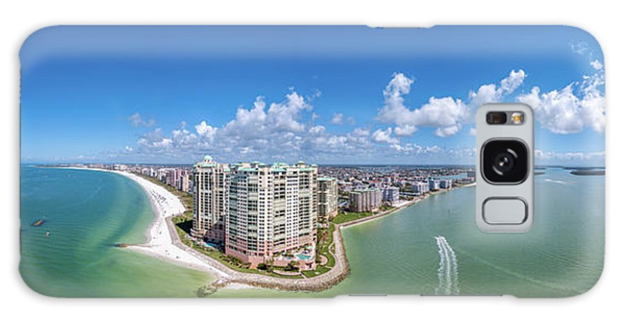 Panoramic Marco Island Galaxy S8 Case featuring the photograph Marco Island Pano2 by Joey Waves