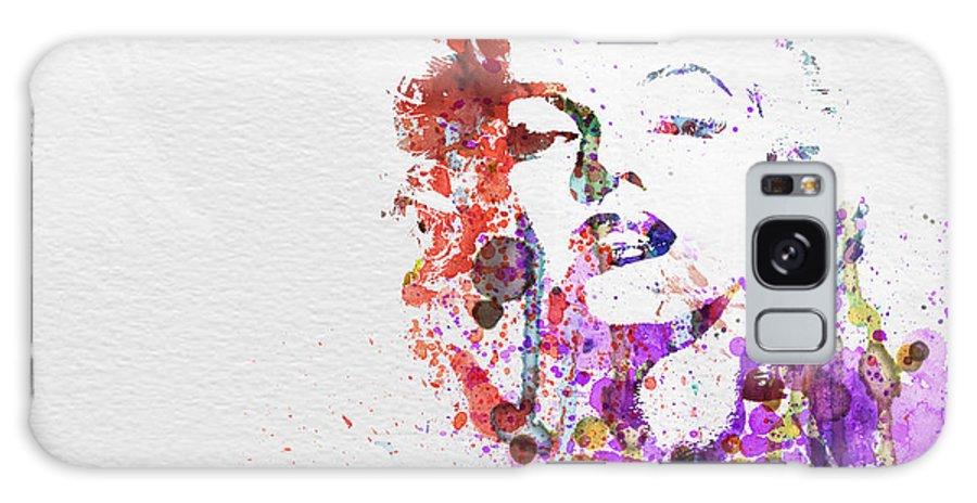 Marilyn Monroe Galaxy Case featuring the painting Marilyn Monroe by Naxart Studio