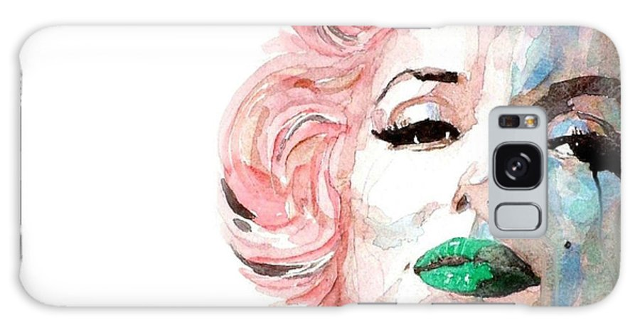 Marilyn Monroe Galaxy Case featuring the painting Marilyn Monroe by Paul Lovering