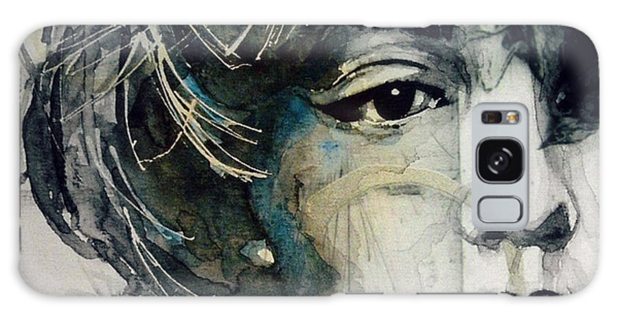 Marilyn Monroe Galaxy Case featuring the mixed media Marilyn Monroe - Wicked Games by Paul Lovering