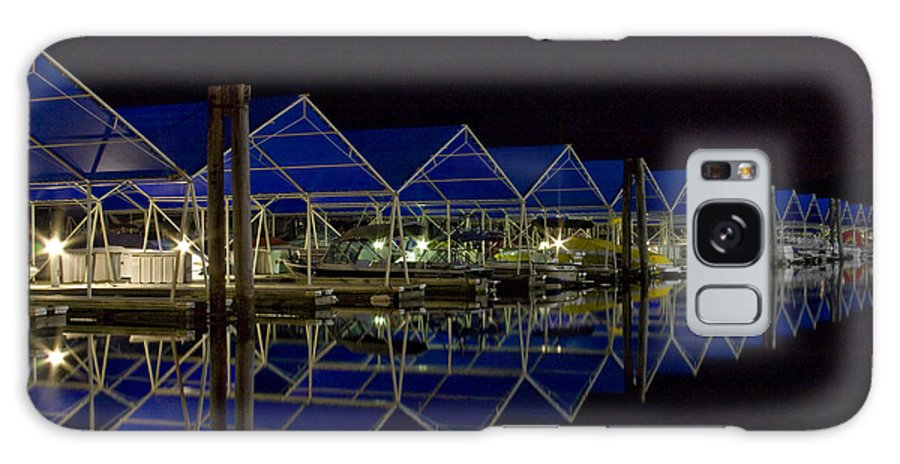 Marina Galaxy Case featuring the photograph Marina Reflected by Idaho Scenic Images Linda Lantzy