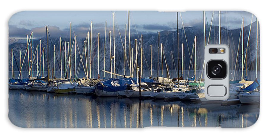 Calm Galaxy S8 Case featuring the photograph Marina Tranquility by Idaho Scenic Images Linda Lantzy