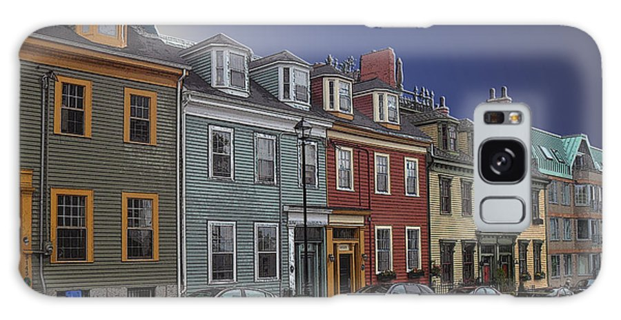 Photograph Galaxy S8 Case featuring the digital art Maritime Canada 3 by Iris Gelbart