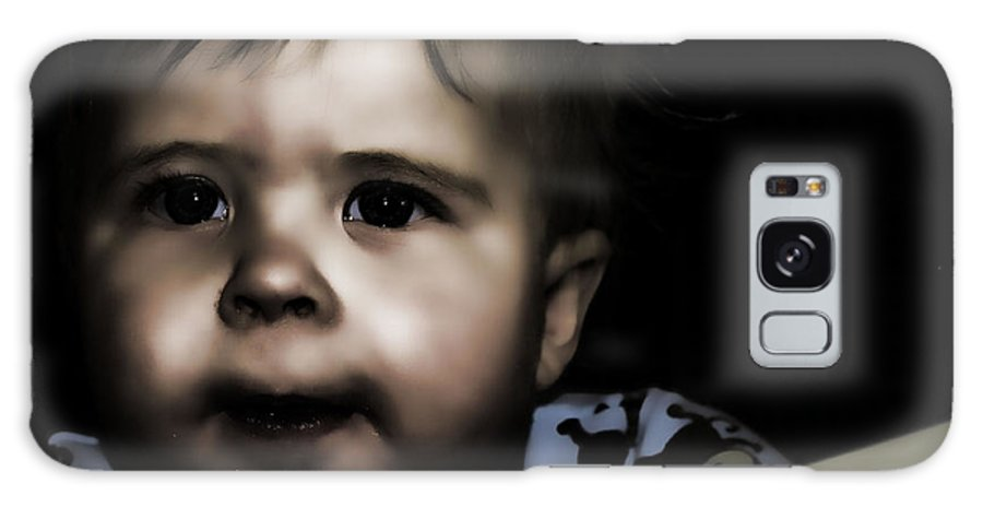 Kids Galaxy S8 Case featuring the photograph Mark In The Dark by Lawrence Christopher