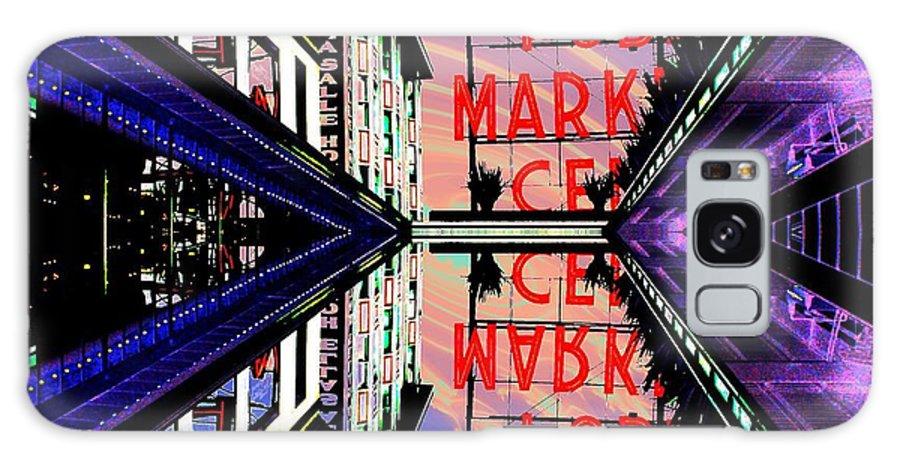 Seattle Galaxy S8 Case featuring the digital art Market Entrance by Tim Allen