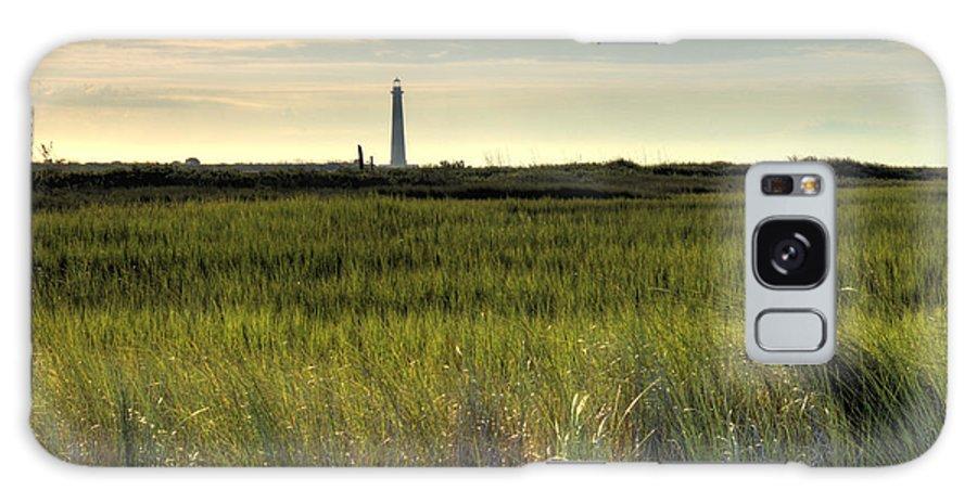 Morris Island Light House Morning Folly Beach Lowcountry South Carolina Landscape Grass Beach Hdr Galaxy S8 Case featuring the photograph Marsh Grass And Morris Island Lighthouse by Dustin K Ryan
