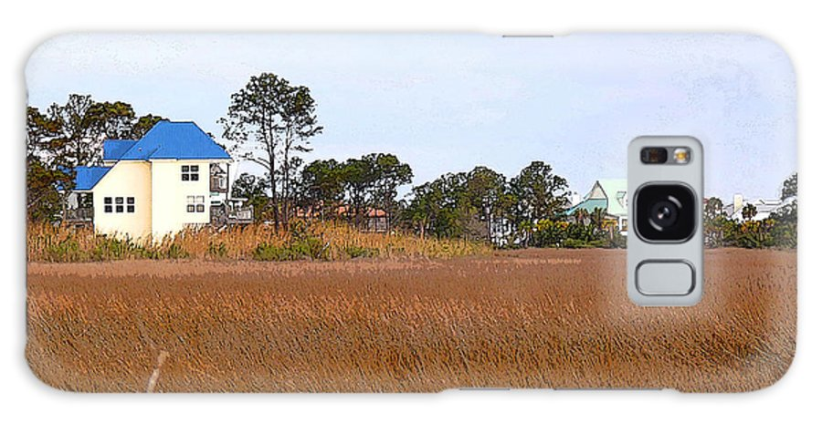 Mobile Bay Galaxy S8 Case featuring the photograph Marsh Grass by David Bearden