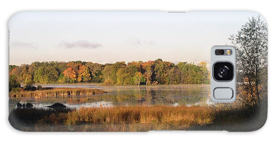 Marsh Galaxy S8 Case featuring the photograph Marsh Morning by Mendy Pedersen