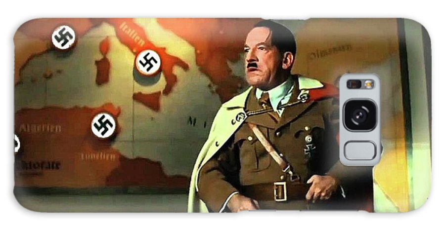 Martin Wuttke As Adolf Hitler Number One Inglourious Basterds 2009 Color Added 2016 Galaxy S8 Case featuring the photograph Martin Wuttke As Adolf Hitler Number One Inglourious Basterds 2009 Color Added 2016 by David Lee Guss