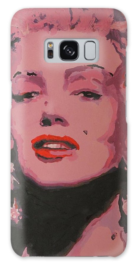 Marilyn Monroe - (june 1 Galaxy S8 Case featuring the painting Marylin Monroe by Eric Dee