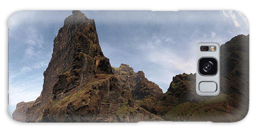 Valasretki Galaxy S8 Case featuring the photograph Masca Valley Entrance Panorama by Jouko Lehto