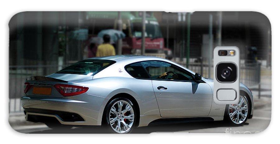 Maserati Galaxy S8 Case featuring the photograph Maserati Granturismo S by Stuart Row