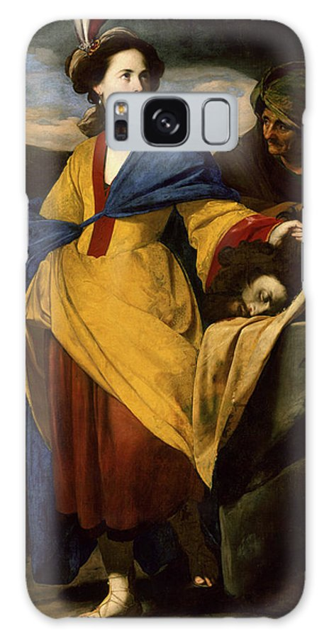 Judith With The Head Of Holofernes Galaxy S8 Case featuring the painting Massimo Stanzione by MotionAge Designs