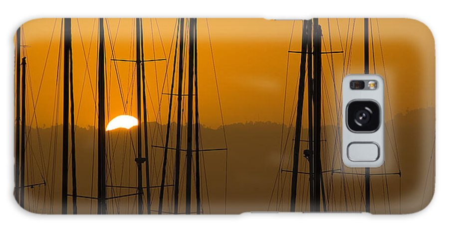 Masts Galaxy S8 Case featuring the photograph Masts At Dawn by Mick Burkey