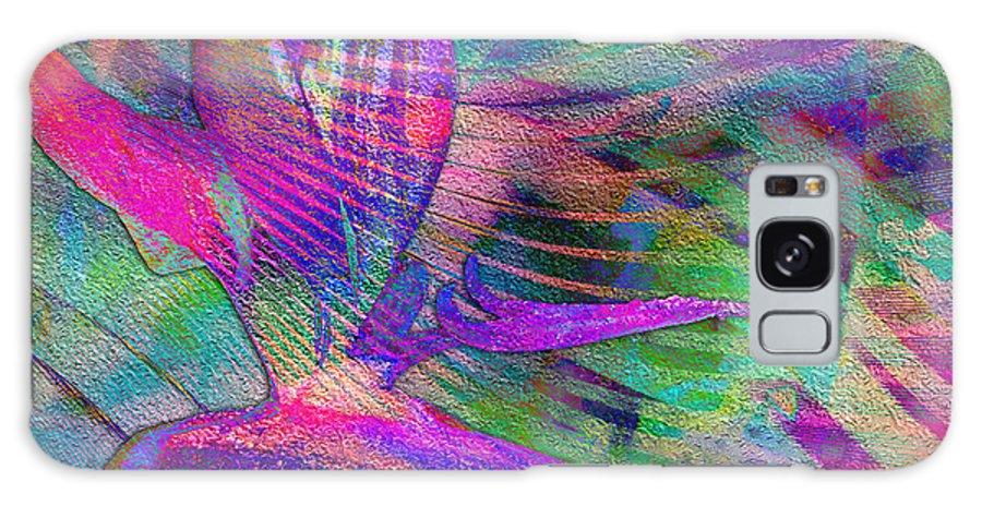 Maui Galaxy S8 Case featuring the digital art Maui Bird Of Paradise by Barbara Berney