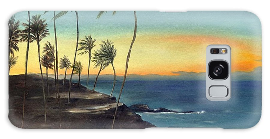Maui Galaxy S8 Case featuring the painting Maui by Carol Sweetwood