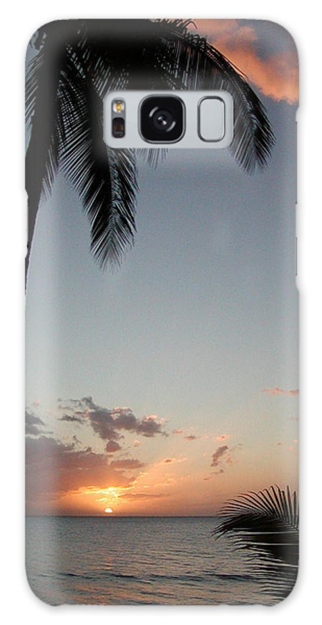 Maui Galaxy S8 Case featuring the photograph Maui Sunset by Dustin K Ryan