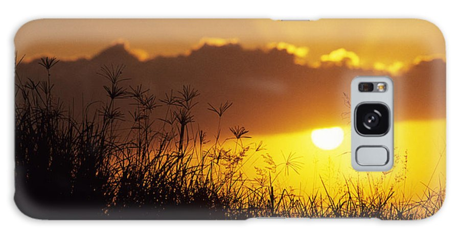 Beautiful Galaxy S8 Case featuring the photograph Maui Sunset by Mary Van de Ven - Printscapes
