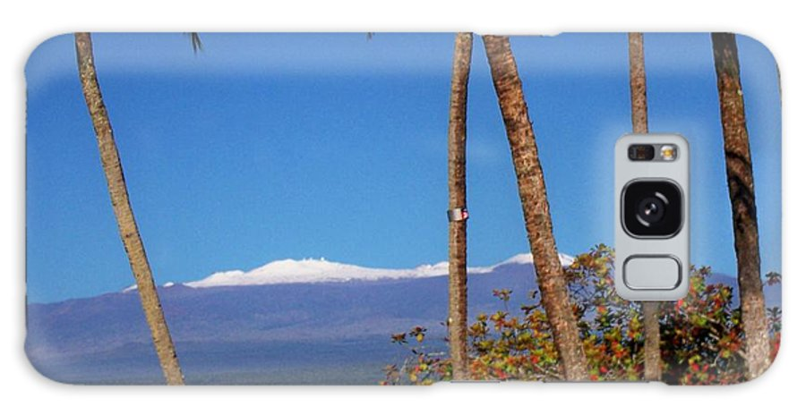 Hawaii Galaxy S8 Case featuring the photograph Mauna Kea by Dina Holland