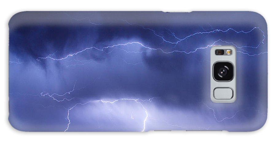 james Insogna Galaxy S8 Case featuring the photograph May Showers - Lightning Thunderstorm 5-10-2011 by James BO Insogna