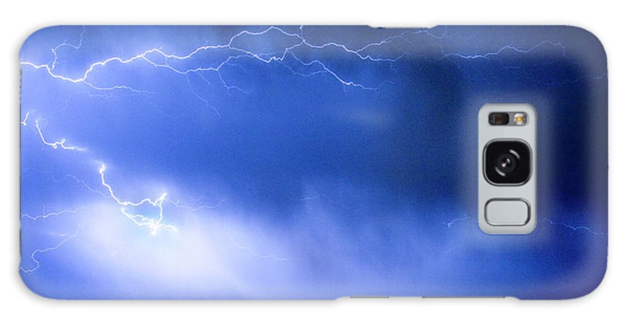 Bo Insogna Galaxy S8 Case featuring the photograph May Showers Two In Color - Lightning Thunderstorm 5-10-2011 by James BO Insogna