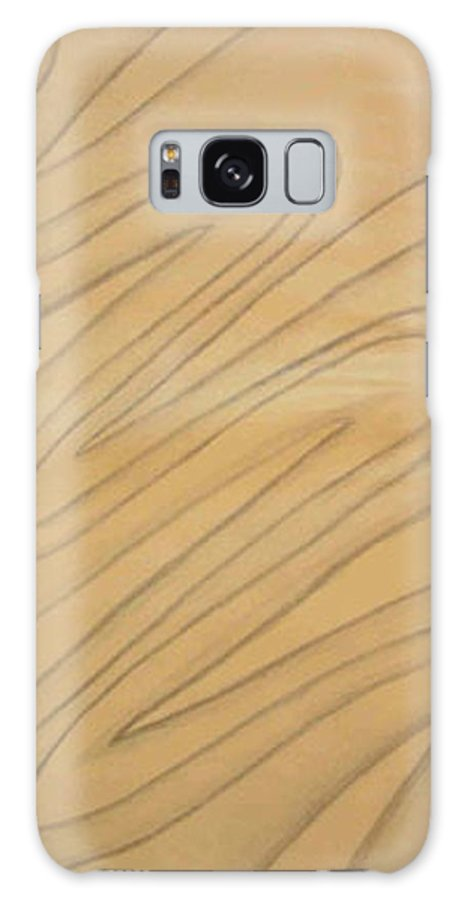 Abstract Galaxy S8 Case featuring the drawing Maze Of Life Drawing by Natalee Parochka