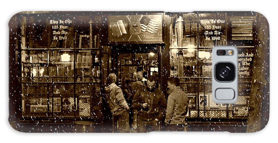 Mcsorley's Old Ale House Galaxy S8 Case featuring the photograph Mcsorley's Old Ale House by Randy Aveille