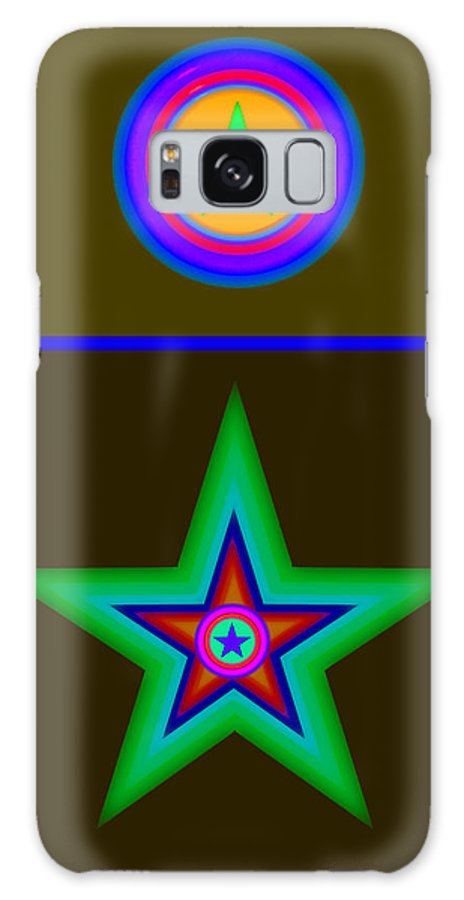 Circus Galaxy S8 Case featuring the painting Medal by Charles Stuart