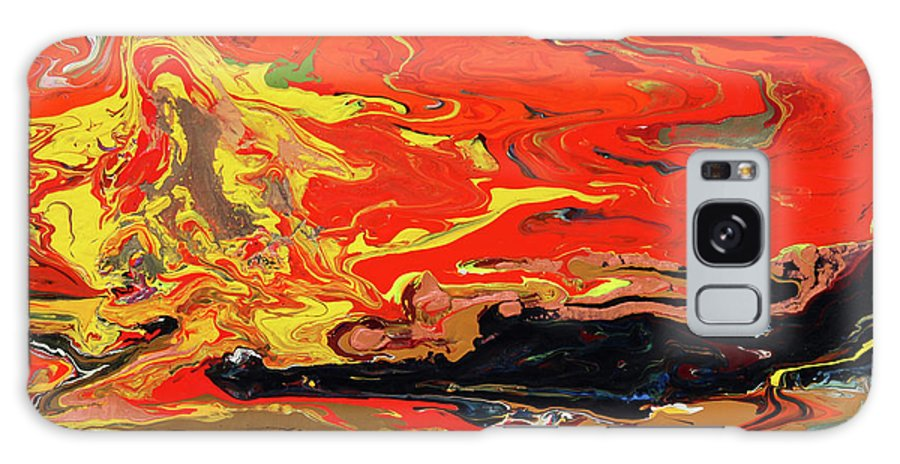 Fusionart Galaxy S8 Case featuring the painting Melt by Ralph White