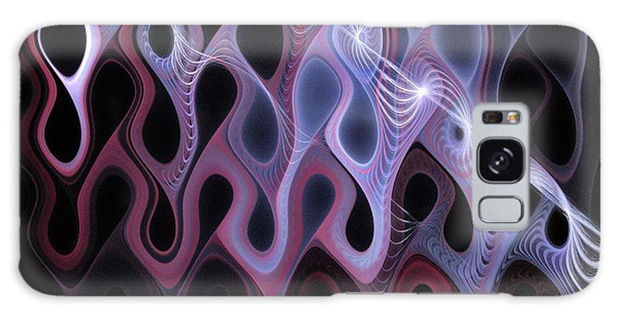 Digital Art Galaxy Case featuring the digital art Meltdown by Amanda Moore